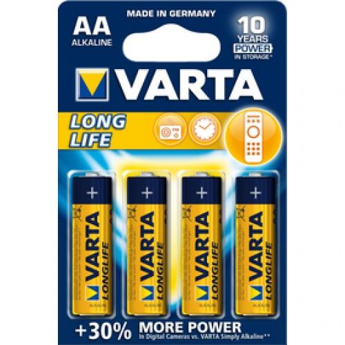 Longlife AA/4 LR6 4ks blister bat. VARTA
