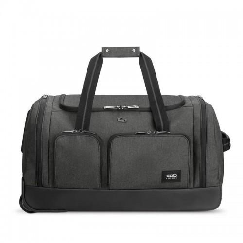 SOLO NEW YORK Leroy cestovní taška na kolečkách, šedá