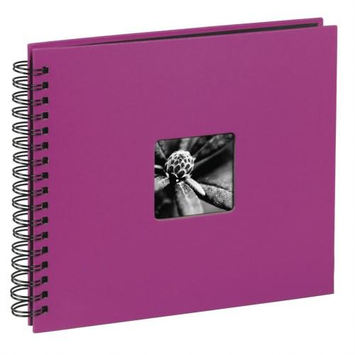 Hama album klasický špirálový FINE ART 36x32 cm, 50 strán, ružový