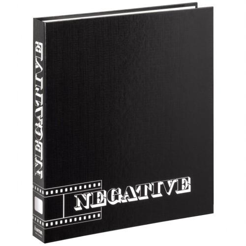 Hama krúžkový zakladač pre negatívy, čierny, 29x32,5 cm