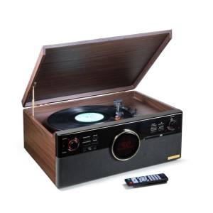 Technaxx Bluetooth přehrávač CD/gramofon/kazeta, DAB rádio, konvertor (TX-137)