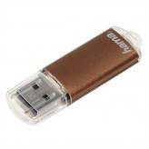 Hama laeta FlashPen, USB 2.0, 32 GB, 66x, hnedý