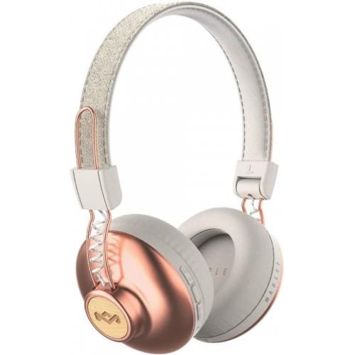MARLEY Positive Vibration 2.0 Bluetooth - Copper, bezdrátová sluchátka přes hlavu