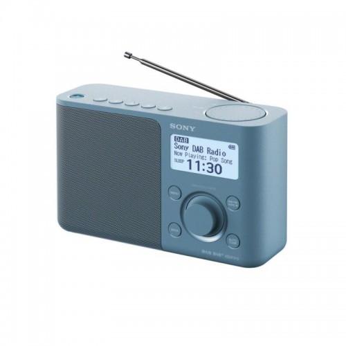 Sony XDR-S61D, přenosné digitální rádio DAB/DAB+ s LCD displayem, modrá