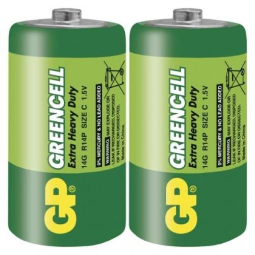 Zinko-chloridová batéria GP Greencell R14 (C)