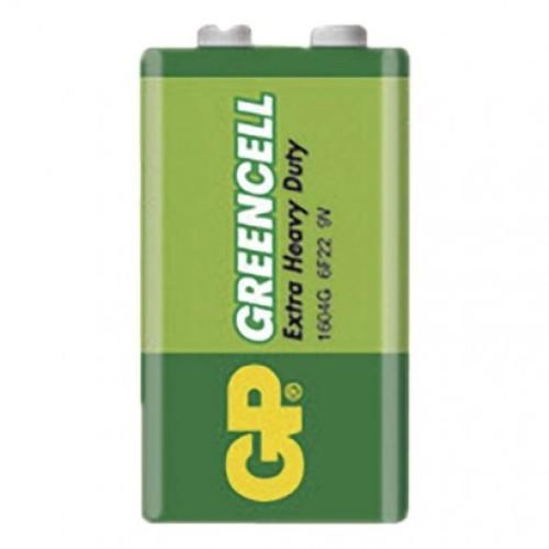 Zinko-chloridová batéria GP Greencell 6F22 (9V)
