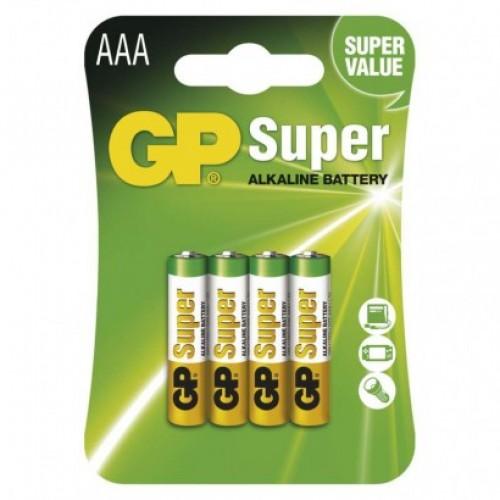 Alkalická batéria GP Super LR03 (AAA)