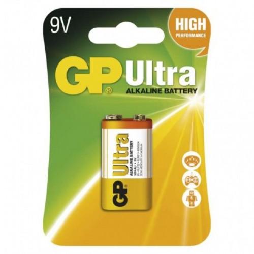 Alkalická batéria GP Ultra 6LF22 (9V)