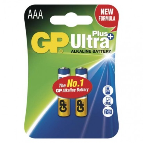 Alkalická batéria GP Ultra Plus LR03 (AAA)