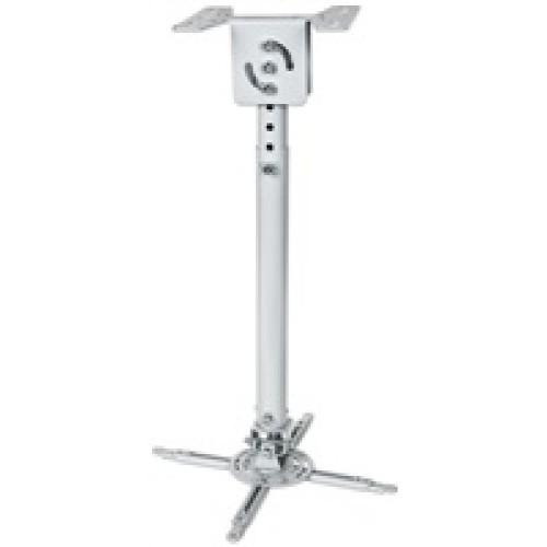 MANHATTAN Stropní držák projektoru, natáčecí (58-82cm, ±15°/360°, max. 20kg)