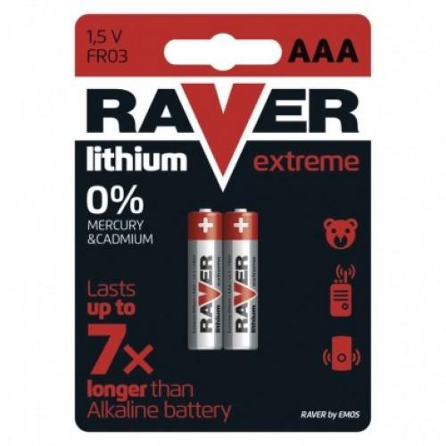 Lítiová batéria RAVER FR03 (AAA)
