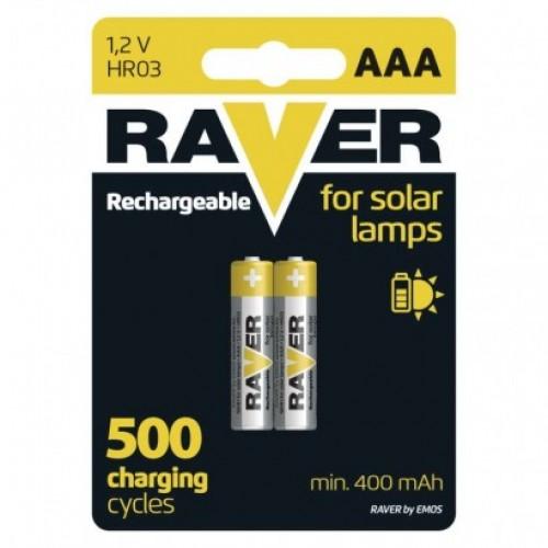 Nabíjacia batéria RAVER 400 mAh HR03 (AAA)
