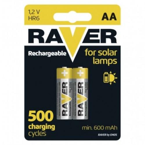Nabíjacia batéria RAVER 600 mAh HR6 (AA)