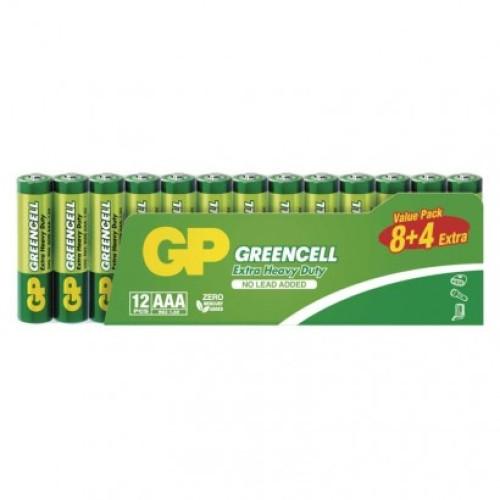 Zinko-chloridová batéria GP Greencell R03 (AAA)