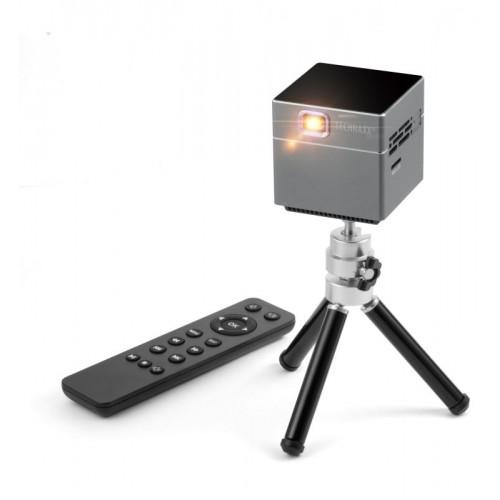 Technaxx projektor Mini DLP Beamer, baterie, repro, 100 ANSI lumenů, (TX-126)