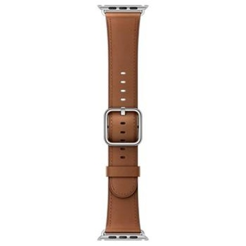Apple Watch 42mm Saddle Brown Classic Buckle