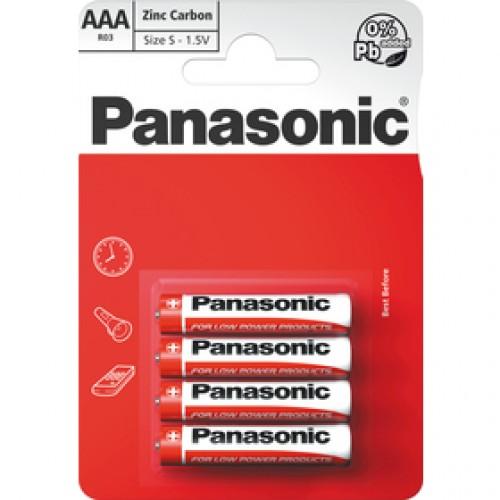 R03 4BP AAA Red zn PANASONIC