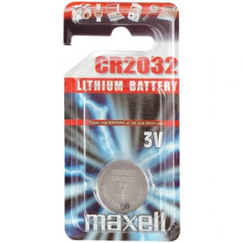 CR2032 1BP Li MAXELL