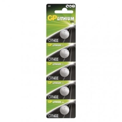 Lítiová gombíková batéria GP CR1632