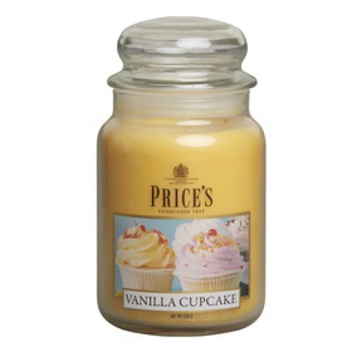 Veľká sviečka vanilkový Muffin Prices