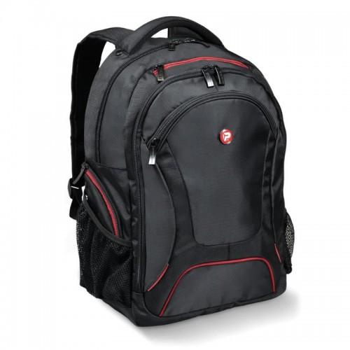 PORT DESIGNS COURCHEVEL batoh na 14/15,6'' notebook a 10,1'' tablet, černo-červený