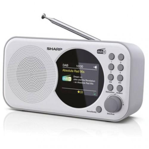 DR-P320(WH) FM/ DAB rádiopríjmač SHARP