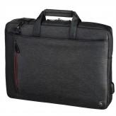 "Hama taška na notebook s integrovaným USB káblom Manchester, 34 cm (13,3""), čierna"