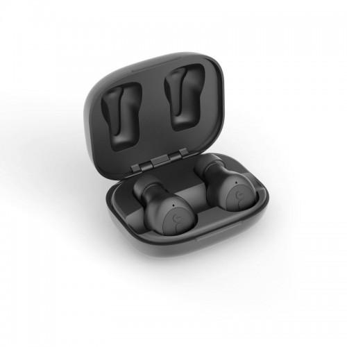 JAM Live Loud bezdrátové špunty do uší s nabíjecím pouzdrem, černá