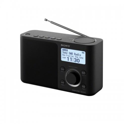 Sony XDR-S61D, přenosné digitální rádio DAB/DAB+ s LCD displayem, černá