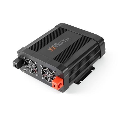 Technaxx měnič napětí 2000W TE20, DC 12V na 2xUSB a 2x230V (TE20)