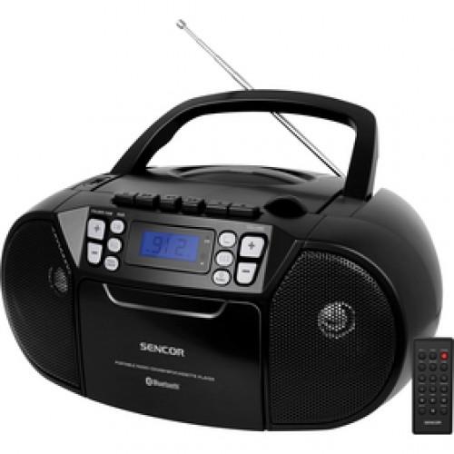 SPT 3907 B CD PLAYER/FM/BT/TAPE SENCOR