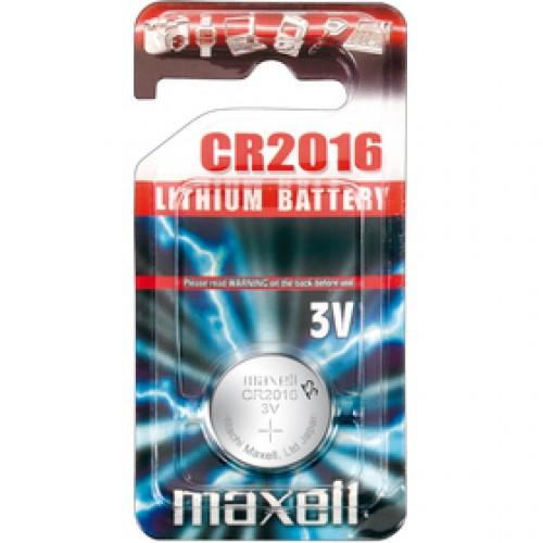 CR2016 1BP Li MAXELL