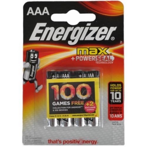 LR03 4BP AAA Max Alk ENERGIZER