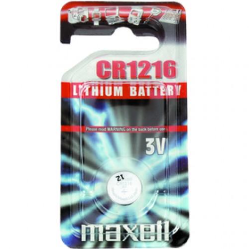CR1216 1BP Li MAXELL
