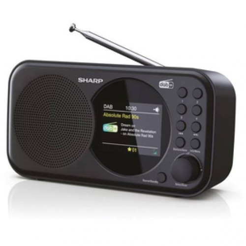 DR-P320(BK) FM/DAB rádiopríjmač SHARP