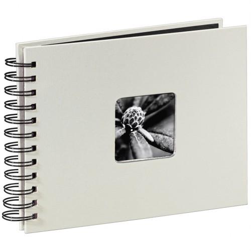 Hama album klasický špirálový FINE ART 24x17 cm, 50 strán, kriedový