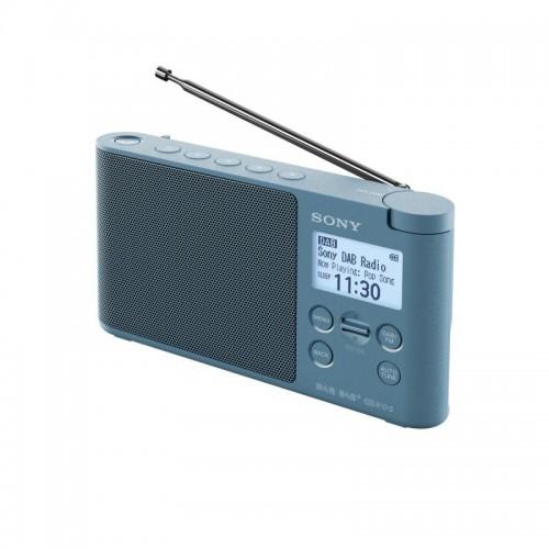 Sony XDR-S41D, přenosné digitální rádio DAB/DAB+ s LCD displayem, modrá