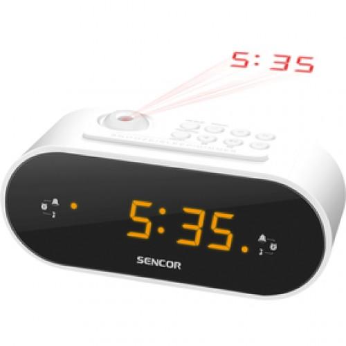 SRC 3100 W rádiobudík s projekc. SENCOR