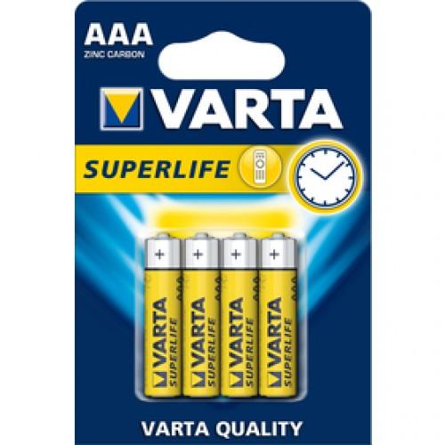 R03 4BP AAA Superlife Zn VARTA