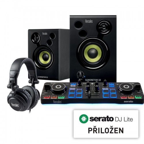 Hercules DJStarter Kit se Serato DJ Lite (4780890)