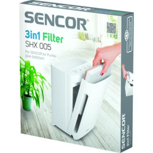 SHX 005 filter pre SHA 6400WH SENCOR
