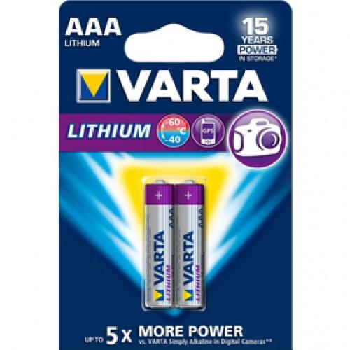 FR03 2BP AAA Li VARTA