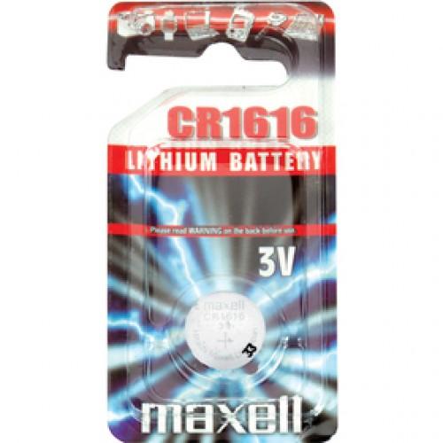 CR1616 1BP Li MAXELL