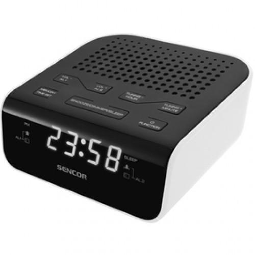 SRC 136 WH rádiobudík SENCOR