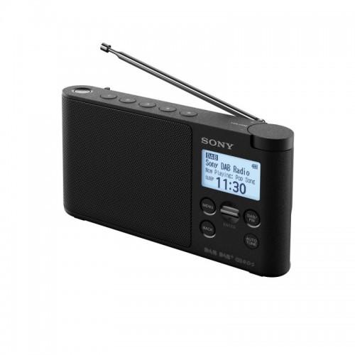 Sony XDR-S41D, přenosné digitální rádio DAB/DAB+ s LCD displayem, černá