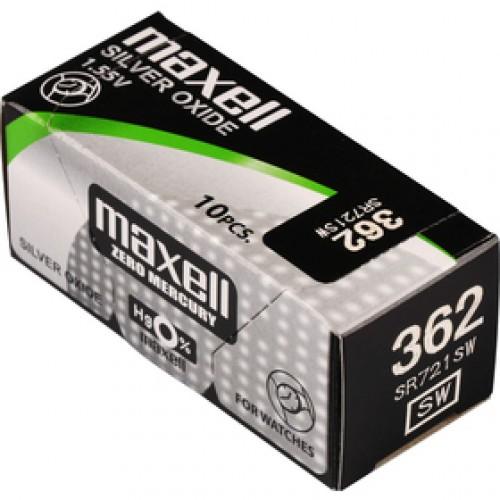 362/SR721SW/V362 1BP Ag MAXELL