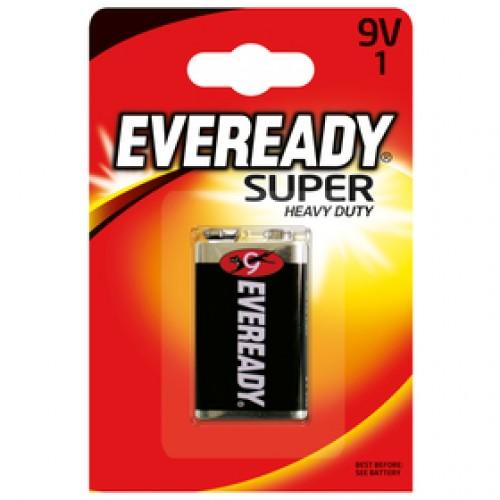 BAT E.RED 6 SUPER HD 6F22 1x9V ENERGIZER