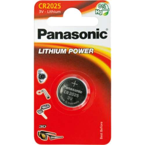 CR-2025 1BP Li PANASONIC