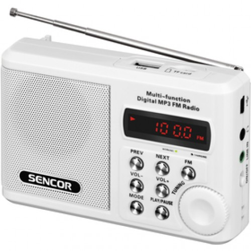 SRD 215 W RÁDIO S USB/MP3 SENCOR