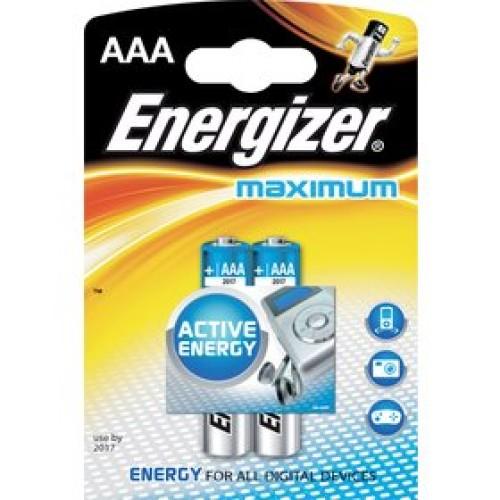 LR03 2BP AAA Maximum Alk ENERGIZER